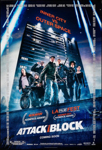 "Attack the Block (Sony, 2011). Rolled, Near Mint. One Sheet (27"" X 40"") DS, Advance. Action"