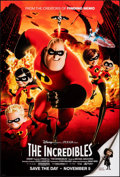 """Movie Posters:Animation, The Incredibles (Buena Vista, 2004). Rolled, Very Fine+. One Sheet (27"""" X 40"""") DS Advance. Animation.. ..."""