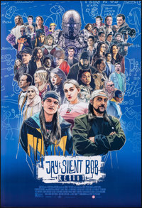 "Jay and Silent Bob Reboot (Saban Films, 2019). Rolled, Very Fine/Near Mint. One Sheet (27"" X 40"") SS. Fantasy..."