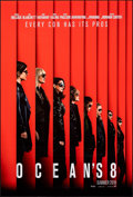 """Movie Posters:Crime, Ocean's 8 (Warner Bros., 2018). Rolled, Very Fine+. One Sheet (27"""" X 40"""") DS, Advance. Crime.. ..."""