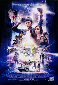 """Ready Player One (Warner Bros., 2018). Rolled, Very Fine/Near Mint. One Sheet (27"""" X 40"""") DS, Advance. Science..."""