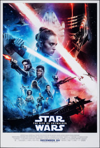 "Star Wars: The Rise of Skywalker (Walt Disney Studios, 2019). Rolled, Near Mint. International One Sheet (27"" X 40&..."