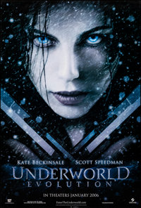 """Underworld: Evolution & Other Lot (Screen Gems, 2006). Rolled, Very Fine/Near Mint. One Sheets (2) (27"""" X 40&qu..."""