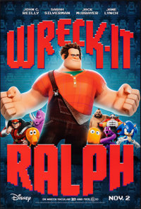 "Wreck-It Ralph (Walt Disney Studios, 2012). Rolled, Very Fine+. One Sheet (27"" X 40"") DS, Advance. Animation..."