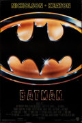 "Movie Posters:Action, Batman (Warner Bros., 1989). Rolled, Very Fine-. One Sheet (27"" X 40.5""). Action.. ..."
