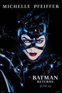 """Batman Returns (Warner Bros., 1992). Rolled, Very Fine+. One Sheets (3) (27"""" X 40"""") SS Advance, 3 Styles. Page..."""