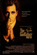 """Movie Posters:Crime, The Godfather Part III (Paramount, 1990). Rolled, Very Fine-. One Sheet (27"""" X 40"""") DS. Crime.. ..."""