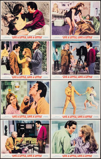 "Live a Little, Love a Little (MGM, 1968). Very Fine/Near Mint. Lobby Card Set of 8 (11"" X 14""). Elvis Presley..."