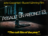 """Assault on Precinct 13 (Miracle Films, 1978). Rolled, Very Fine-. British Quad (30"""" X 40""""). Action"""