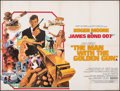 "Movie Posters:James Bond, The Man with the Golden Gun (United Artists, 1974). Fine+ on Linen. British Quad (30"" X 40""). Robert McGinnis Artwork. James..."