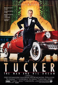 """Tucker: The Man and His Dream (UIP, 1988). Rolled, Very Fine+. International One Sheets (5) Identical (27"""" X 40&quo..."""