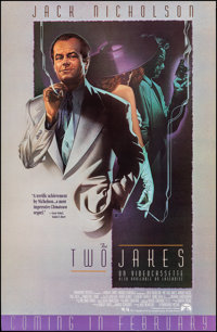 """The Two Jakes (Paramount, 1990). Rolled, Very Fine. One Sheet (27"""" X 41.5"""") SS Advance. Robert Rodriguez Artwo..."""