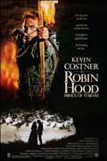 """Movie Posters:Adventure, Robin Hood: Prince of Thieves & Other Lot (Warner Bros., 1991). Rolled, Very Fine+. One Sheets (2) (27"""" X 40.5""""). Adv..."""