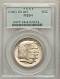 1936 50C Long Island MS64 PCGS. PCGS Population: (2525/2134). NGC Census: (2057/1703). CDN: $85 Whsle. Bid for NGC/PCGS...