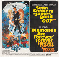 "Diamonds are Forever (United Artists, 1971). Fine/Very Fine on Linen. International Six Sheet (77"" X 78.75). Robert..."