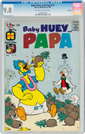 Silver Age (1956-1969):Cartoon Character, Baby Huey and Papa #12 File Copy (Harvey, 1964) CGC NM/MT 9.8 Off-white to white pages....