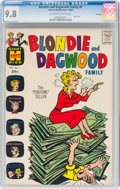 Silver Age (1956-1969):Humor, Blondie and Dagwood Family #1 File Copy (Harvey, 1963) CGC NM/MT 9.8 Off-white to white pages....