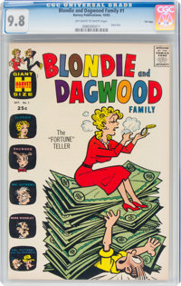 Blondie and Dagwood Family #1 File Copy (Harvey, 1963) CGC NM/MT 9.8 Off-white to white pages