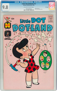 Little Dot Dotland #12 File Copy (Harvey, 1964) CGC NM/MT 9.8 Off-white to white pages