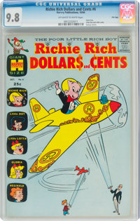 Richie Rich Dollars and Cents #6 File Copy (Harvey, 1964) CGC NM/MT 9.8 Off-white to white pages