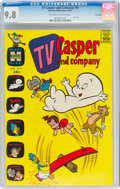 Silver Age (1956-1969):Cartoon Character, TV Casper and Company #8 File Copy (Harvey, 1965) CGC NM/MT 9.8 Off-white to white pages....
