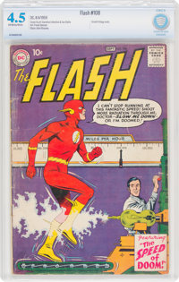 The Flash #108 (DC, 1959) CBCS VG+ 4.5 Off-white to white pages
