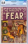 Golden Age (1938-1955):Horror, Haunt of Fear #11 (EC, 1952) CGC VG/FN 5.0 Off-white pages....