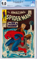 Silver Age (1956-1969):Superhero, The Amazing Spider-Man #52 (Marvel, 1967) CGC VF/NM 9.0 Off-white to white pages....