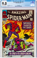 Silver Age (1956-1969):Superhero, The Amazing Spider-Man #40 (Marvel, 1966) CGC VF/NM 9.0 Off-white to white pages....