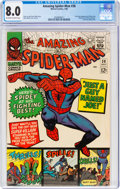 Silver Age (1956-1969):Superhero, The Amazing Spider-Man #38 (Marvel, 1966) CGC VF 8.0 Off-white to white pages....