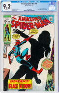 Bronze Age (1970-1979):Superhero, The Amazing Spider-Man #86 (Marvel, 1970) CGC NM- 9.2 White pages....