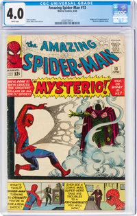 The Amazing Spider-Man #13 (Marvel, 1964) CGC VG 4.0 White pages