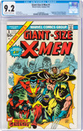 Bronze Age (1970-1979):Superhero, Giant-Size X-Men #1 (Marvel, 1975) CGC NM- 9.2 Off-white to white pages....