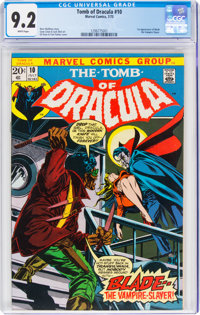 Tomb of Dracula #10 (Marvel, 1973) CGC NM- 9.2 White pages