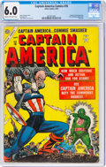 Golden Age (1938-1955):Superhero, Captain America Comics #78 (Timely, 1954) CGC FN 6.0 Cream to off-white pages....