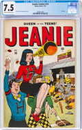 Golden Age (1938-1955):Humor, Jeanie Comics #14 (Timely, 1947) CGC VF- 7.5 Cream to off-white pages....