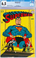 Golden Age (1938-1955):Superhero, Superman #21 (DC, 1943) CGC FN+ 6.5 White pages....
