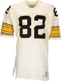 Football Collectibles:Uniforms, 1987 John Stallworth Game Worn Pittsburgh Steelers Jersey....