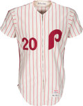 Baseball Collectibles:Uniforms, 1977 Mike Schmidt Game Worn Philadelphia Phillies Jersey--Photo Matched!...