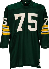 1970 Forrest Gregg Game Worn Green Bay Packers Jersey