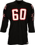 Football Collectibles:Uniforms, 1960's Tommy Nobis Game Worn Atlanta Falcons Jersey. ...