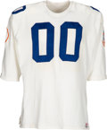 Football Collectibles:Uniforms, 1969 Jim Otto Game Worn & Signed AFL All Star Game Jersey - With LOA from Otto!...