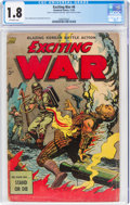 Golden Age (1938-1955):War, Exciting War #6 (Standard, 1952) CGC GD- 1.8 Off-white pages....