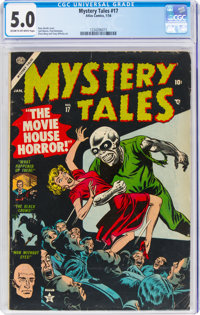 Mystery Tales #17 (Atlas, 1954) CGC VG/FN 5.0 Cream to off-white pages