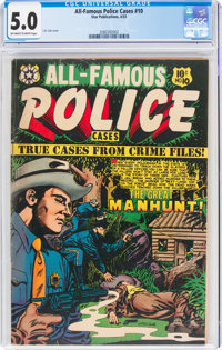 All-Famous Police Cases #10 (Star Publications, 1953) CGC VG/FN 5.0 Off-white to white pages