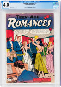 Golden Age (1938-1955):Romance, Teen-Age Romances #17 (St. John, 1951) CGC VG 4.0 Cream to off-white pages....