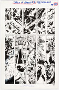 Original Comic Art:Panel Pages, Steve Rude The Man of Steel #2 Story Page 20 Original Art (DC, 2018)....