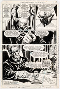 "Curt Swan and Mike Esposito The Unexpected #113 Complete 9-Page Story ""Tunnel of Fear!"" Original Art (DC, 1969..."