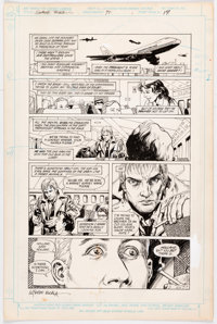 Rick Veitch and Alfredo Alcala Swamp Thing #71 Story Pages 17-19 Original Art Group of 3 (DC, 1988).... (Total: 3 Origin...
