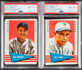 """Autographs:Sports Cards, Signed 1961 Fleer """"Baseball Greats"""" PSA/DNA Auto NM-MT 8 P..."""